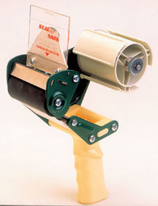 """Picture of 3"""" Seal Safe Tape Gun w/Adjustable Brake and Retractable Cutting Blade"""