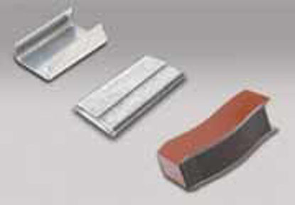 """Picture of Open Strapping Seals 1/2"""" x 1""""  2500 seals / case"""
