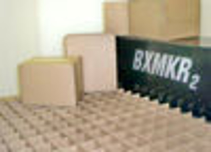 "Picture of Corrugated Boxes 275 T - 54 X 8 1/2 X 28 1/2"" WHITE FOL"