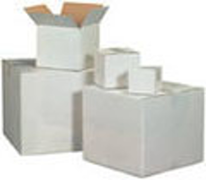 """Picture of Corrugated Boxes 200 T - 18 1/2 X 11 1/2 X 3"""" WHITE"""