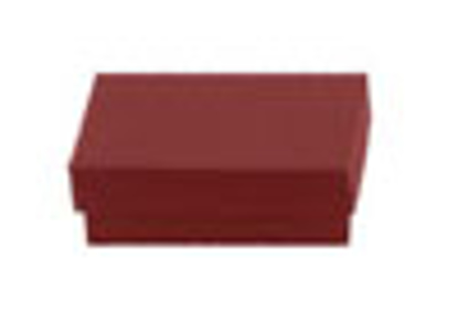 """Picture of Brick Red Jewelry Boxes - 3 1/2 x 3 1/2 x 1"""""""