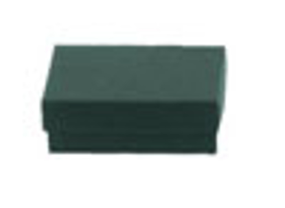 """Picture of Dark Green Jewelry Boxes - 3 1/2 x 3 1/2 x 2"""""""