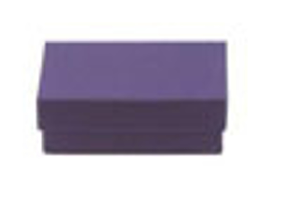 Picture of Deep Purple Jewelry Boxes - 3 1/2 x 3 1/2 x 1""