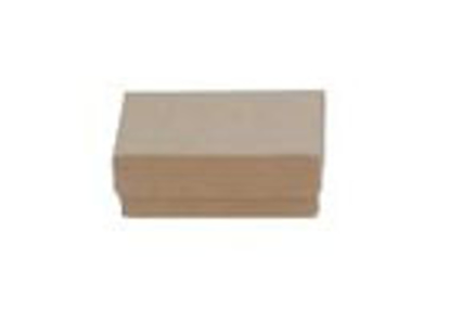 """Picture of Kraft Jewelry Boxes 3 1/2 X 3 1/2 X 2"""""""