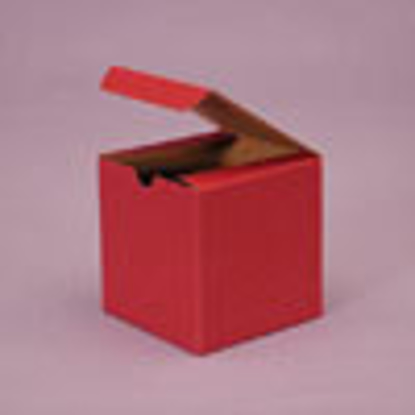 """Picture of Tinted Gift Boxes 12 x 6 x 6"""" Brick Red"""